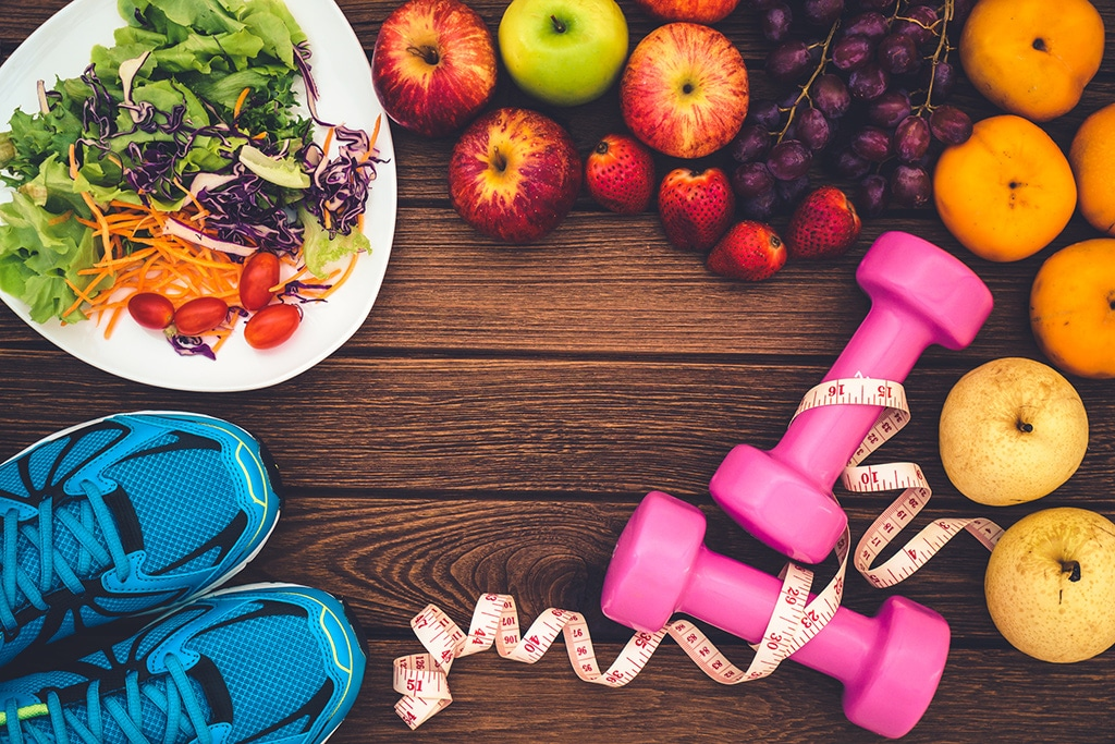 First preparing steps to becoming healthier and stronger